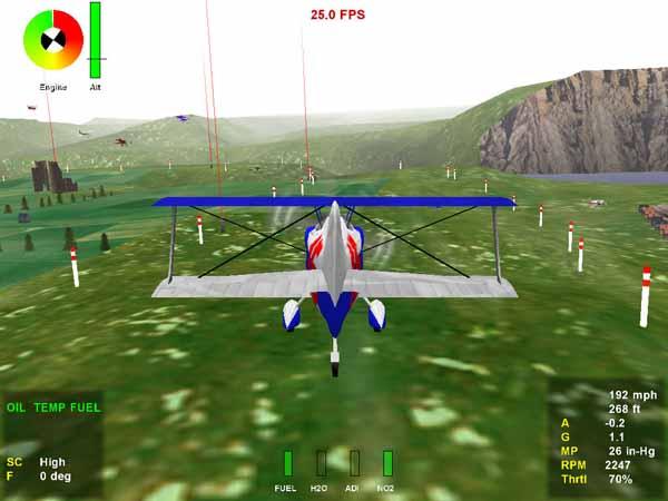 红线:极限飞行竞速2截图1