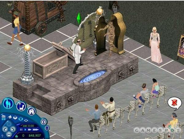 模拟人生:魔法天地中文硬盘版截图0