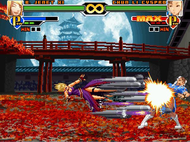 拳皇mugen版可选200人免安装版截图6