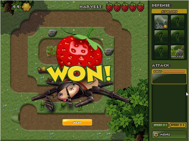 草莓园危机塔防截图0