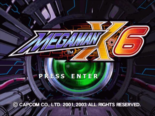 洛克人x6(Rockman X6) 硬盘版截图0