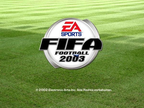 FIFA世界足球2003截图0