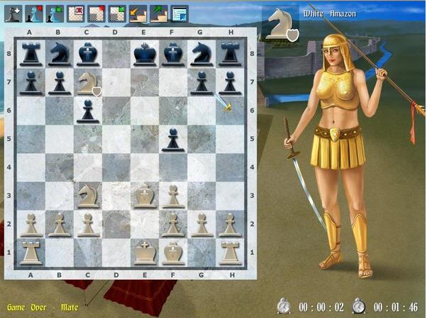 美女亚马逊国际象棋2截图1