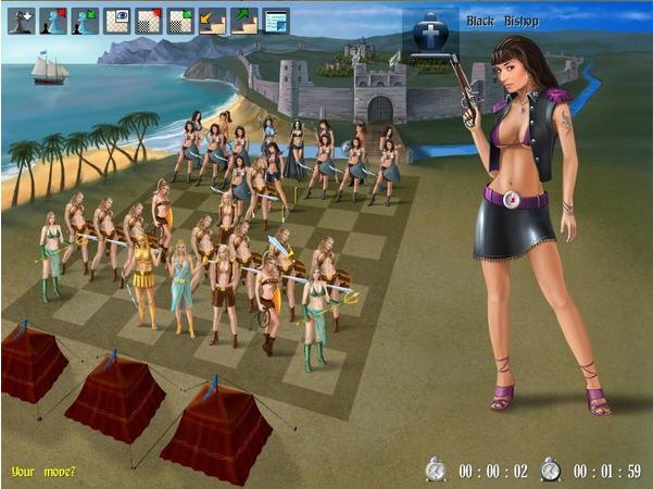 美女亚马逊国际象棋2截图3