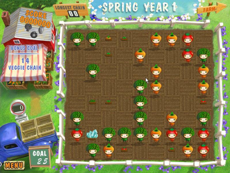 蔬菜娃娃(Harvest Mania To Go)硬盘版截图1