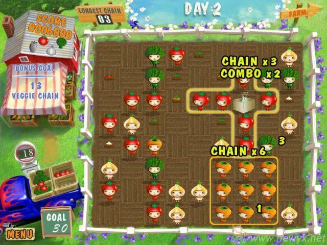 蔬菜娃娃(Harvest Mania To Go)硬盘版截图3