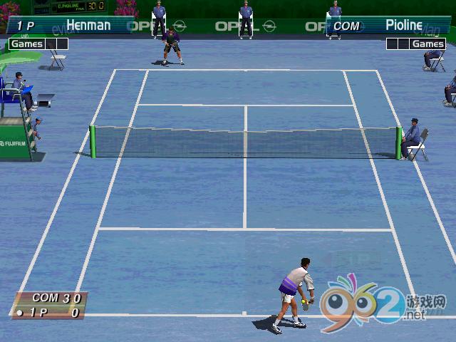 3D网球精英赛硬盘版截图3