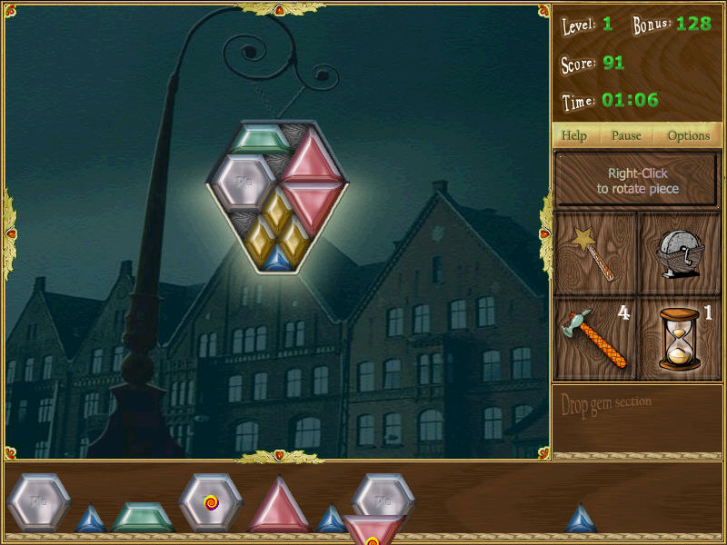 宝石拼图截图1