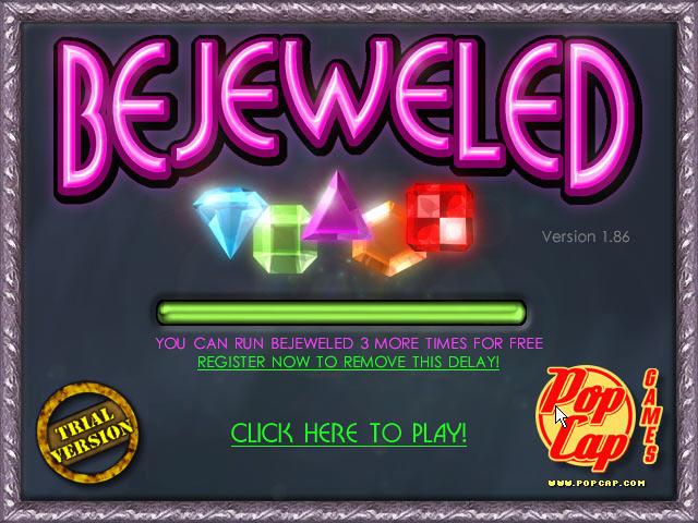 宝石迷阵(Bejeweled Deluxe) 硬盘版截图0