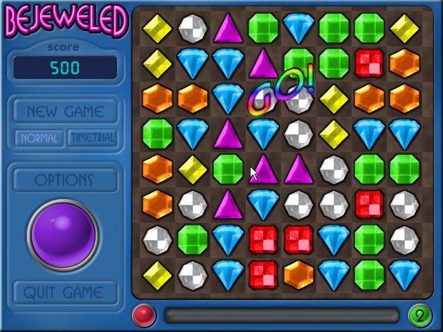 宝石迷阵(Bejeweled Deluxe) 硬盘版截图2