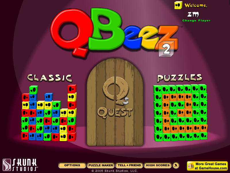 鬼脸方块2(Qbeez 2) 硬盘版截图0