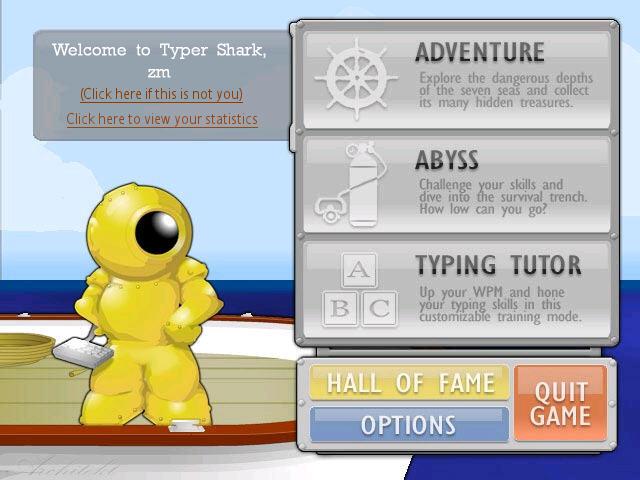 海底寻宝(Typer Shark Deluxe)硬盘版截图1