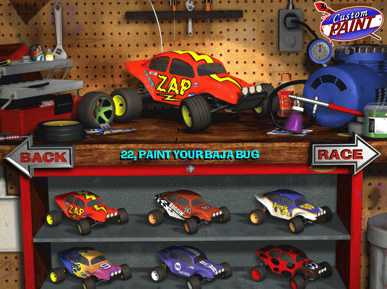 3D豪华遥控赛车(3D Ultra Radio Control Racers Deluxe Traxxas Edition )硬盘版截图2