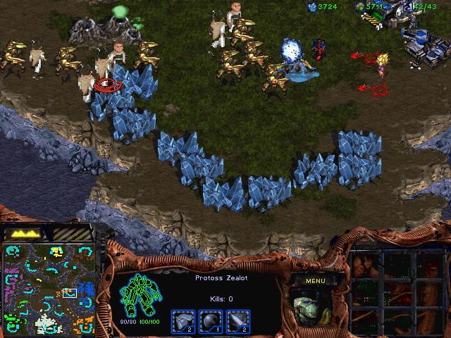 星际争霸(StarCraft) 1.15 硬盘版截图2