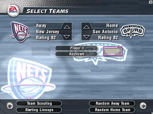 NBA Live2004硬盘版截图0