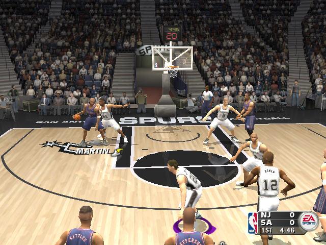NBA Live2004截图1