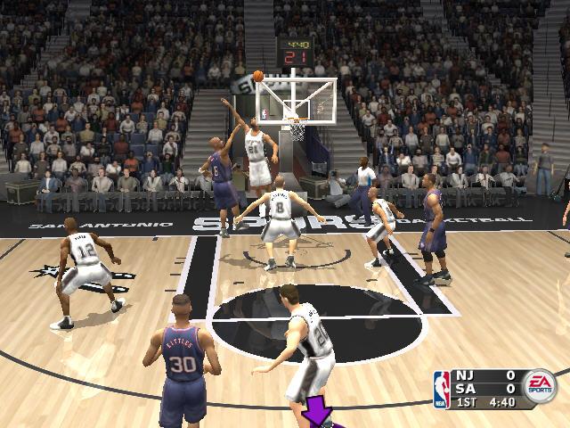 NBA Live2004截图2