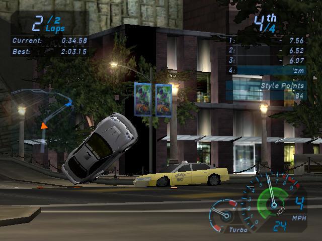 极品飞车7(地下狂飙)完美版截图1