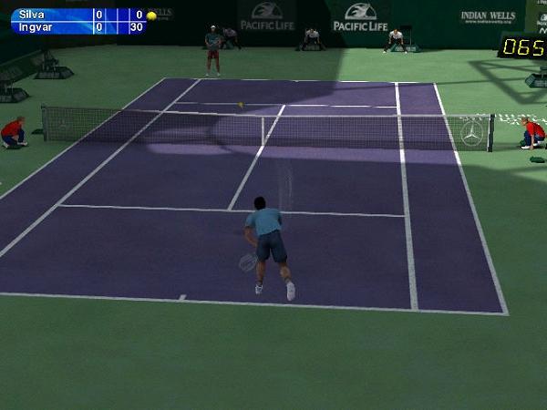 网球精英2003(Tennis Masters Series 2003)硬盘版截图0