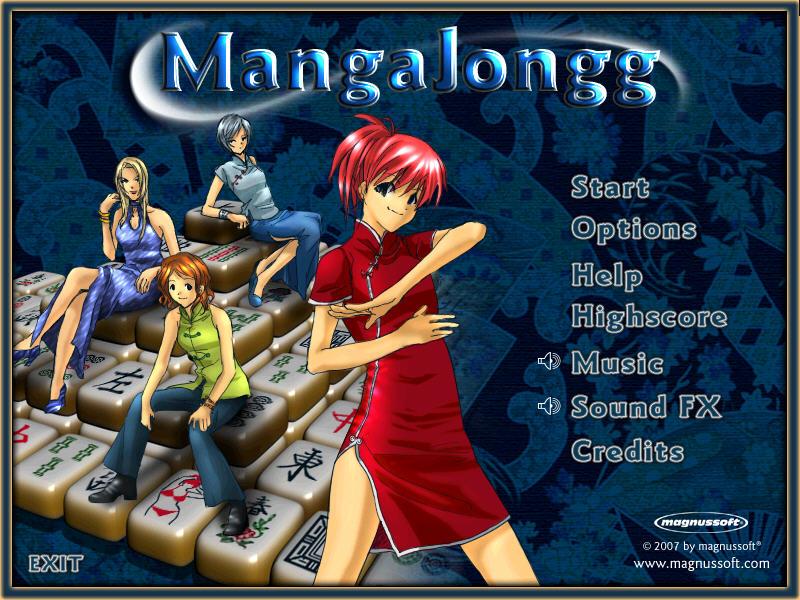 漫画麻将(Manga Jongg) 绿色硬盘版截图0