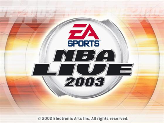 美国职篮2003(NBA Live 2003) 英文免安装版截图0