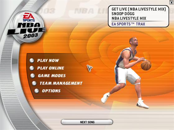美国职篮2003(NBA Live 2003) 英文免安装版截图1