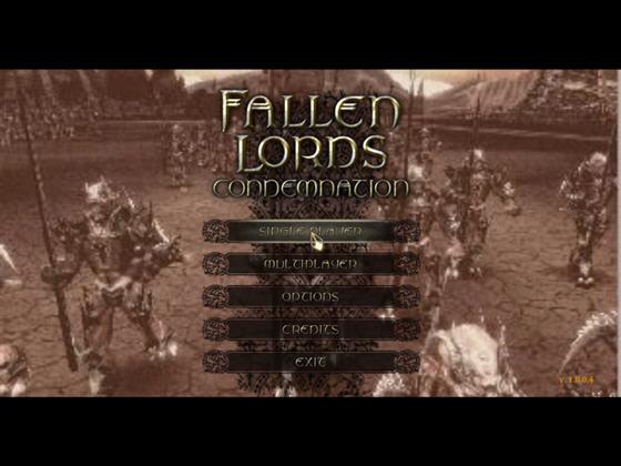 堕落之神天诛(Fallen Lords:Condemnation) 英文免安装版截图0