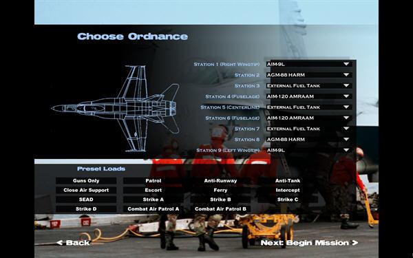 FA-18沙漠风暴行动(FA-18 Operation Desert Storm) 英文免安装版截图1