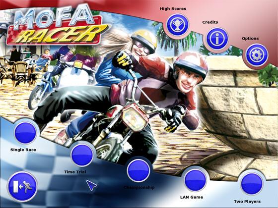 土制摩托车赛(MOFA RACER) 英文免安装版截图1
