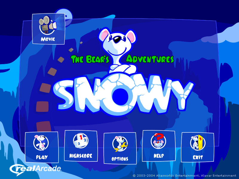 小白熊史努伊历险记(Snowy - The Bears Adventures)硬盘版截图0