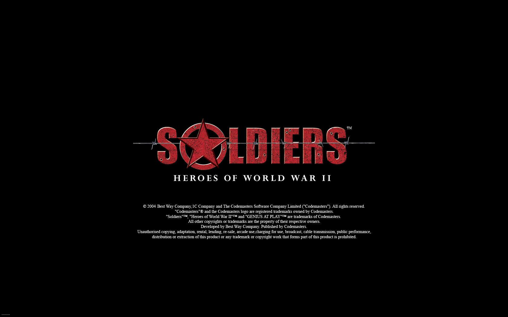 士兵:二战英雄(Soldiers:Heroes of World War 2)硬盘版截图0