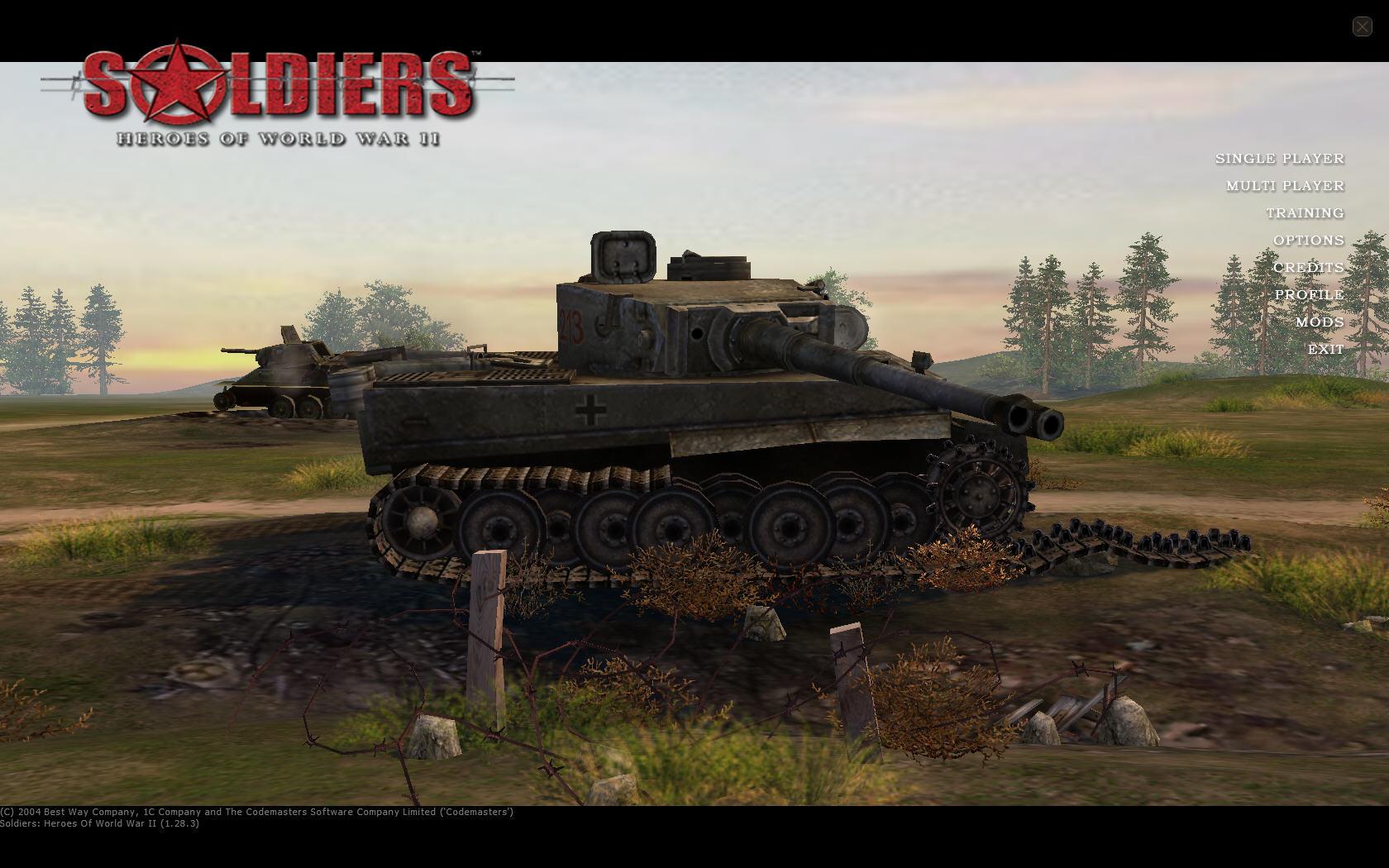 士兵:二战英雄(Soldiers:Heroes of World War 2)硬盘版截图1