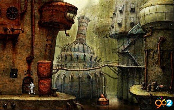 机械迷城(Machinarium)中文硬盘版截图1