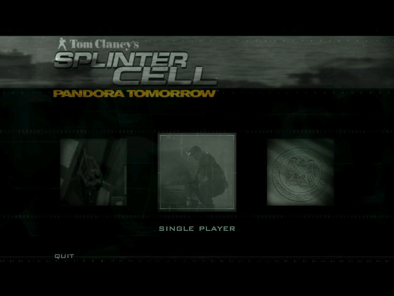 Tom Clancy s Sprinter Cell Pandora Tomorrow 硬盘版