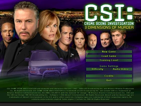 犯罪现场调查谋杀的三维(CSI 3 Dimensions of Murder) 英文免安装版截图0