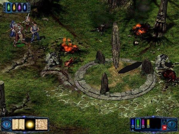 光芒之池2剑与魔法的传说(Pool of Radiance The ruin of Myth Drannor)硬盘版截图3