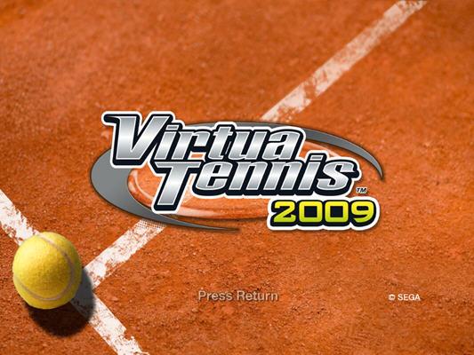 VR网球2009(Virtua Tennis 2009) 英文免安装版截图0