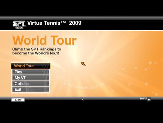 VR网球2009(Virtua Tennis 2009) 英文免安装版截图1