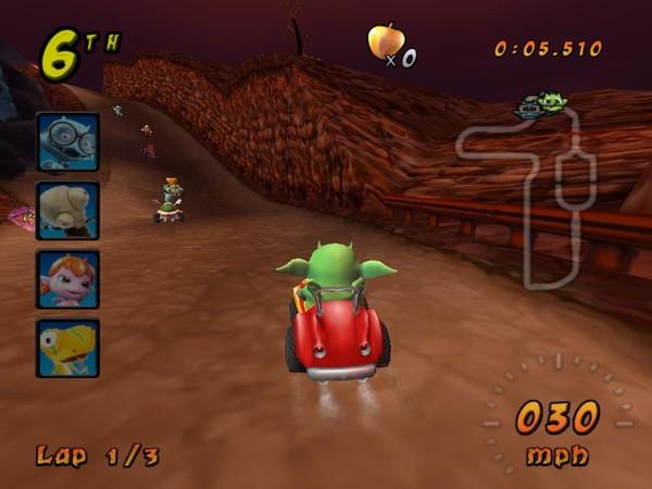 魔怪卡丁车(Cocoto Kart Racer)硬盘版截图0