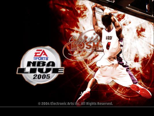 美国劲爆职篮2005(NBA Live2005) 英文免安装版截图0