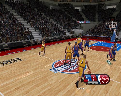 美国劲爆职篮2005(NBA Live2005) 英文免安装版截图3