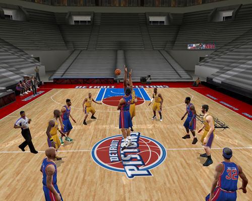 美国劲爆职篮2005(NBA Live2005) 英文免安装版截图2