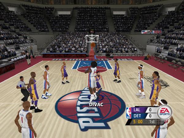 美国职篮2005(NBA Live 2005) 英文免安装版截图0