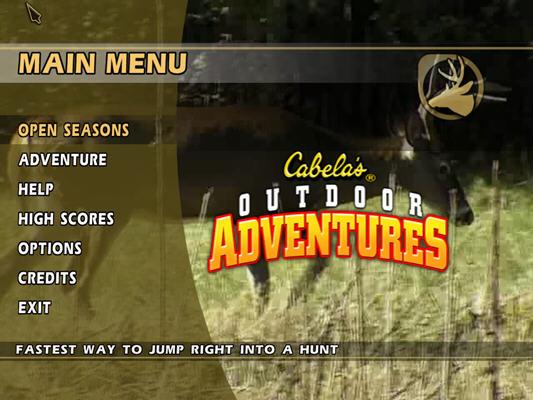 坎贝拉野外冒险2010(Cabela's Outdoor Adventures 2010) 英文免安装版截图0