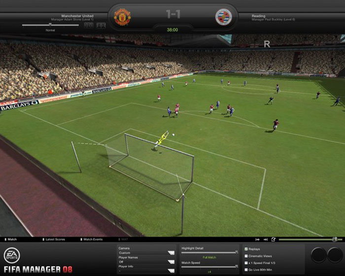 FIFA足球经理2008(FIFA Manager 08) 免安装版截图0