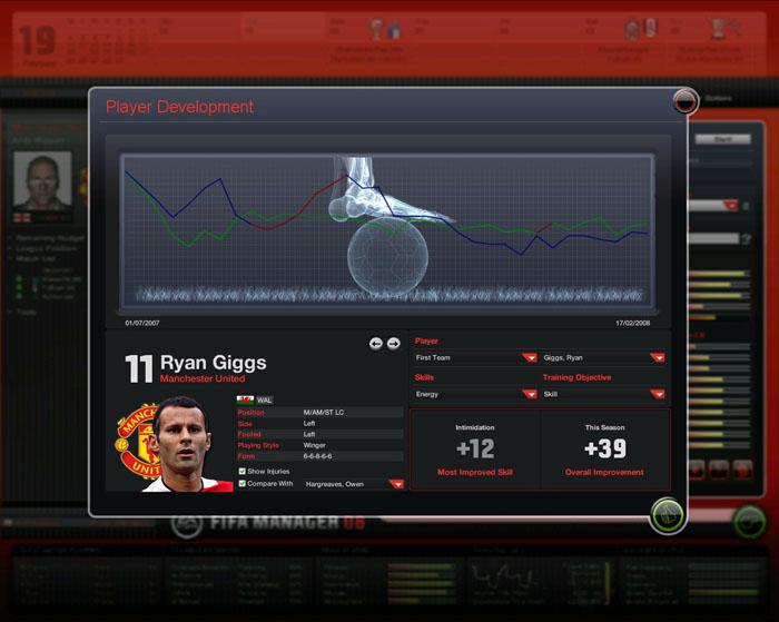 FIFA足球经理2008(FIFA Manager 08) 免安装版截图3