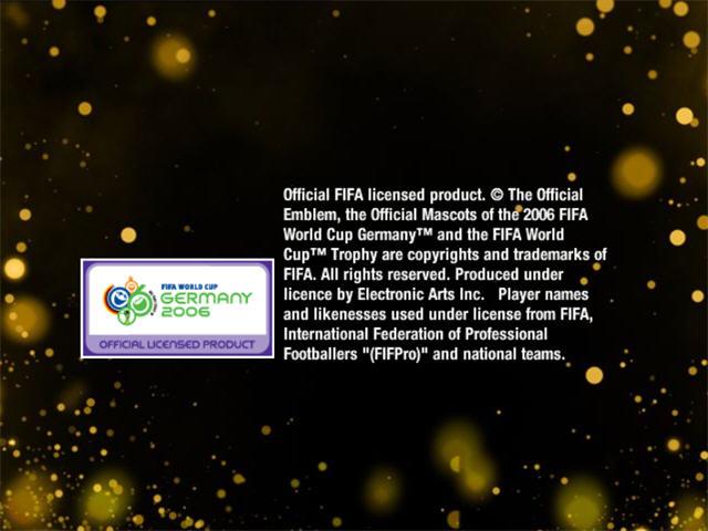 FIFA2006世界杯截图0