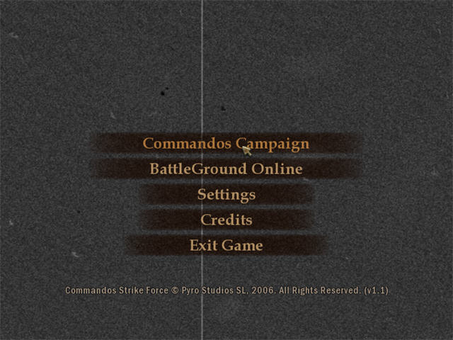 盟军敢死队:打击力量(Commandos: Strike Force)免安装版截图0