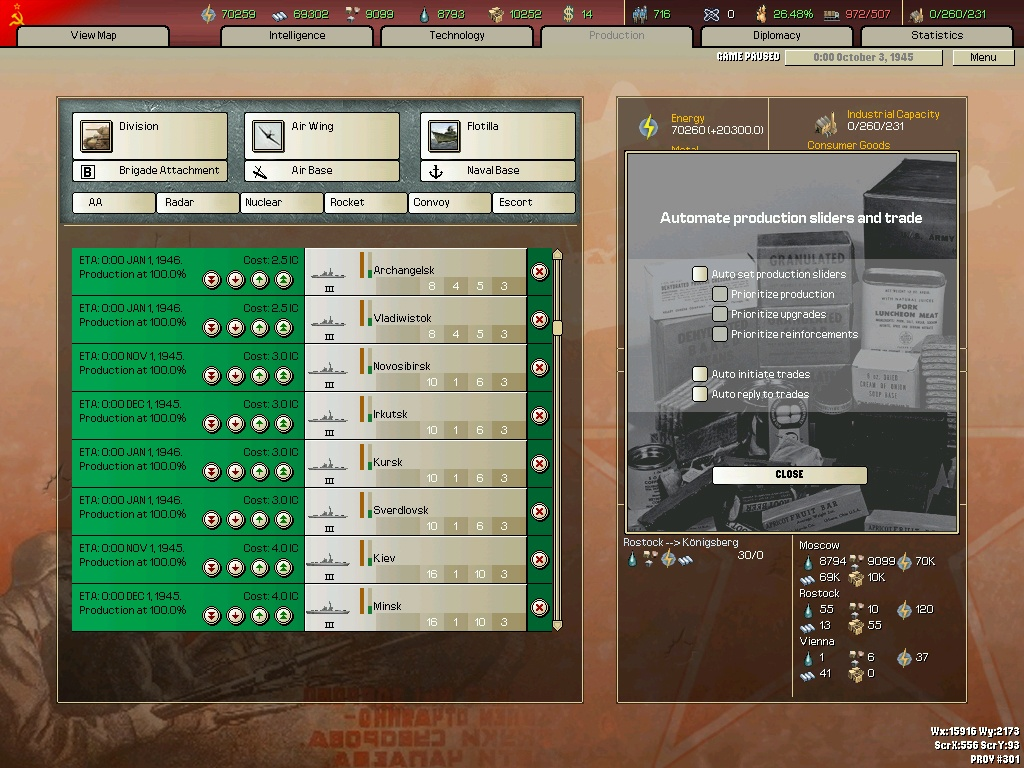 ��F雄心II世界末日(Hearts of Iron II: Doomsday)硬�P版截�D1