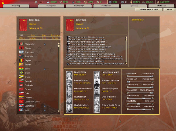 ��F雄心II世界末日(Hearts of Iron II: Doomsday)硬�P版截�D2